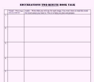 Educreations-Book-Talk-Stor