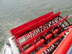 Ohio Riverboat's Paddle Wheels