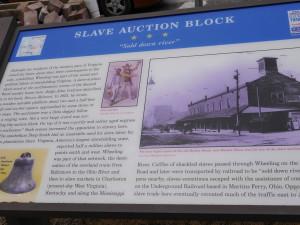 Slave Auction Block - Mattox